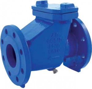 CHECK VALVE CAST IRON GG25 PN 16 FLANGED 106