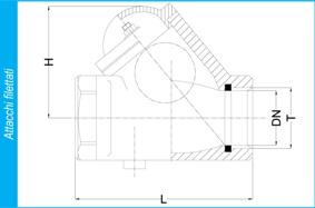 BALL CHECK VALVE CAST IRON GG25 PN 16 ART. 106p fil-tech