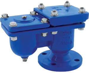 AIR RELEASE VALVE GGG 50 PN 16 - DOUBLE FLOAT ART. 117